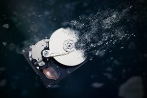 destroy hard drive