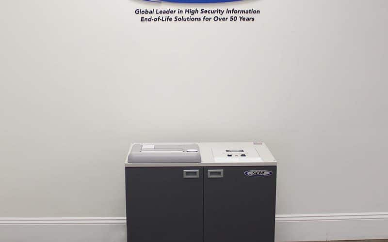 Security Engineered Machinery Introduces Dual Shredder for Classified and CUI Paper and Optical Media Destruction